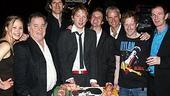 Inishmore Broadway Opening - cast with cake
