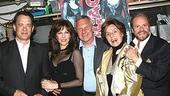 Rita Wilson opens in Chicago - Tom Hanks - Rita Wilson - Walter Bobbie - Fran Weissler - Barry Weissler