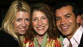 Photo Op - Des McAnuff at Sardis - Kelly Devine - Lucy Simon - Sergio Trujillo