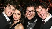 Photo Op - Spring Awakening Broadway opening - Jonathan Groff - Lea Michele - Michael Mayer - John Gallagher Jr.