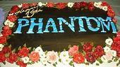 Photo Op - 19th Anniversary of Phantom - cake