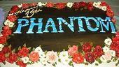 Photo Op - 19th Anniversary of Phantom - cake