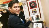 Photo Op - Jersey Boys in SF - Deven May (records and wall stuff)