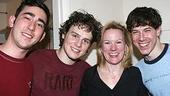 Photo Op - Max Crumm at Spring Awakening - Max Crumm - Jonathan Groff - Kathleen Marshall - John Gallagher Jr.