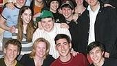 Photo Op - Max Crumm at Spring Awakening - Max Crumm - Kathleen Marshall - entire cast