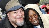 Photo Op - August Wilson Tribute at Bryant Park - Stephen McKinley Henderson - Whoopi Goldberg