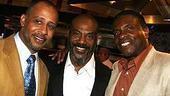 Photo Op - Radio Golf opening - Ruben Santiago-Hudson - John Earl Jelks - Keith David