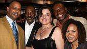 Photo Op - Radio Golf opening - Ruben Santiago-Hudson - John Earl Jelks - Constanza Romero - Keith David - Tracie Thoms