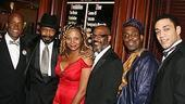 Photo Op - Radio Golf opening - Kenny Leon - Anthony Chisholm - Tonya Pinkins - John Earl Jelks - James A. Williams - Harry Lennix