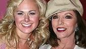 Photo Op - Joan Collins at Legally Blonde - Laura Bell Bundy - Joan Collins