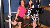 Photo Op - Hairspray Bonus Recording Session - Marissa Jaret Winokur - Ricki Lake
