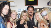 Now at bat for the next Rock of Ages group shot: Ringer Cameron Diaz!