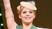Katie Rose Clarke as Glinda in Wicked.