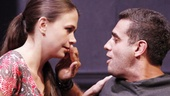 Sutton Foster as Prudence and Bobby Cannavale as Morton in Trust.
