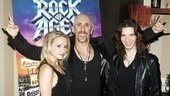 Dee Snider Rock of Ages opening night  Emily Padgett  Dee Snider  Joey Taranto