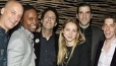 A parting shot of Frank Wood, Billy Porter, playwright Tony Kushner, Zoe Kazan, Zachary Quinto and Christian Borle. Congrats on bringing fresh life to one of the 20th century's greatest theatrical achievements, Angels in America.