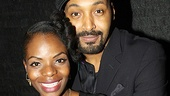 Merchant of Venice Opening night  Marsha Stephanie Blake  Jesse L. Martin