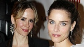 Break of Noon Opening Night  - Sarah Paulson – Amanda Peet