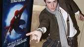 Spiderman preview  Reeve Carney - 2