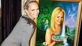 Kristin Chenoweth 2010  fame wall - 34