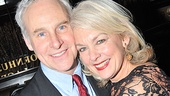 Michele Pawk gets close to her real-life husband, actor John Dossett. 