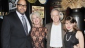 It's party time for A Small Fire stars Victor Williams, Michele Pawk, Reed Birney and Celia Keenan-Bolger.