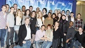 Catch Me If You Can First Rehearsal  group shot