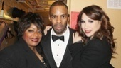 LaVon Fisher-Wilson (Mama Morton) and Colman Domingo (Billy Flynn) join Bianca Marroquin for a sizzling snapshot.