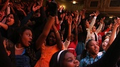 Memphis kids benefit  audience of &lt;i&gt;Memphis&lt;/i&gt;
