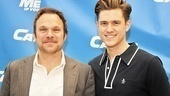 Who can resist these two Broadway darlings? Catch Me stars Norbert Leo Butz and Aaron Tveit beam at their sneak peek.
