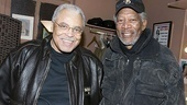 Morgan Freeman at Driving Miss Daisy – James Earl Jones – Morgan Freeman