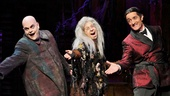 Show Photos - The Addams Family - Brad Oscar - Jackie Hoffman - Roger Rees 