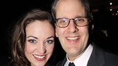 Anything Goes Opening Night  Laura Osnes  Harold Wolpert
