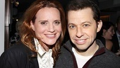 Jennifer Laura Thompson and Jon Cryer make a lovely couple as onstage husband and wife, Jenny and David.