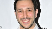 Desmin Borges is all smiles as he celebrates his Best Actor nod for his work in The Elaborate Entrance of Chad Deity at Second Stage.