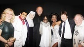 Sister Act Opening Night – Rebecca Quigley – Chester Gregory - Victoria Clark – Joop Van Den Ende - Whoopi Goldberg – Patina Miller  -  Bill Taylor  – Fred Applegate