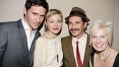 It's a family affair at Jerusalem's party for Christian Camargo, wife Juliet Rylance, her stepfather Mark Rylance and his wife Claire van Kampen.
