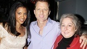 Good People's Renee Goldsberry joins Cactus Flower  vet Maxwell Caulfield and The Importance of Being Earnest's Jayne Houdyshell backstage at the Easter Bonnet.