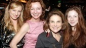 Broadway regulars Julie White and Tovah Feldshuh each brought their daughter as a date.