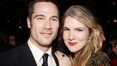 The Normal Heart Opening Night  Luke Macfarlane  Lily Rabe