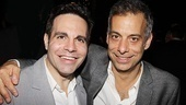 The Normal Heart Opening Night  Mario Cantone  Joe Mantello 