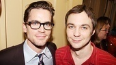 Celebrities at The Normal Heart  Matthew Bomer  Jim Parsons 
