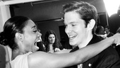 Patina Miller Tony Brunch  Patina Miller  Rory OMalley 