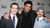 Check out this handsome crew: Arcadia's Billy Crudup, Motherf**er's Bobby Cannavale and Bengal Tiger's Arian Moayed!