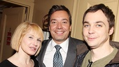 Celebrities at The Normal Heart  Ellen Barkin  Jimmy Fallon  Jim Parsons 