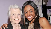 Jonathan Groff and Angela Lansbury at &lt;i&gt;Sister Act&lt;/i&gt; - Angela Lansbury  Patina Miller 