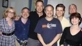 Tom Hanks at Catch Me If You Can – Paula Herold – Marc Shaiman – Tom Hanks – Norbert Leo Butz – Aaron Tveit – Scott Wittman – Margo Lion