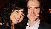 Arcadia's Billy Crudup throws his arm around fellow presenter Carla Gugino.