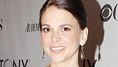 Anything Goes star Sutton Foster in Michael Kors.