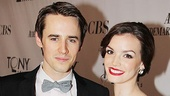 2011 Tony Awards Red Carpet  Reeve Carney - Jennifer Damiano